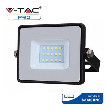 V-TAC 10W Samsung chipes SMD LED reflektor, fényvető 4000K - fekete ház - 425