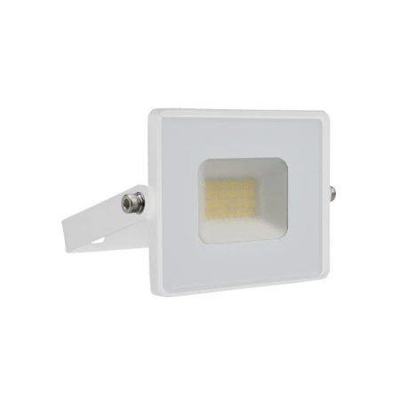 V-TAC 20W SMD LED reflektor, fényvető természetes fehér - fehér ház - 5950
