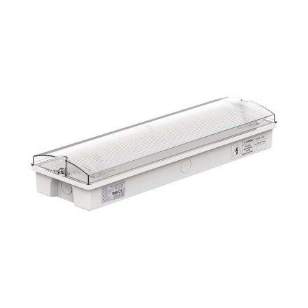 V-TAC vészvilágító LED lámpatest, akkus EXIT kijáratjelző - 8096