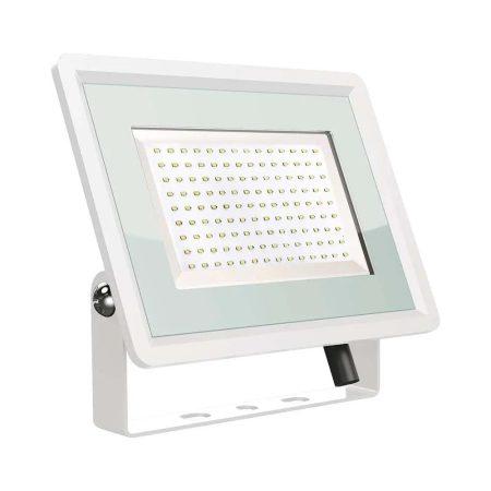 V-TAC 100W SMD LED reflektor, fényvető hideg fehér - fehér ház - 5845