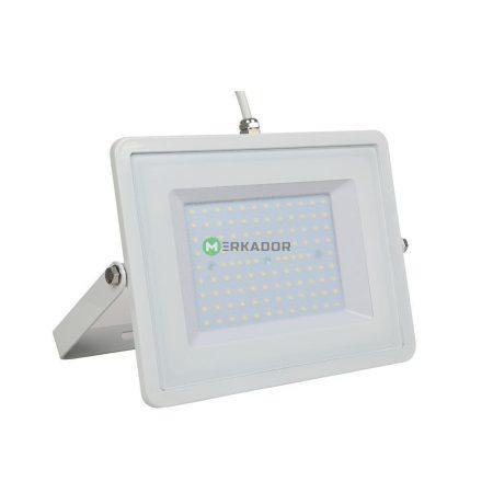 V-TAC 100W SMD LED reflektor, fényvető meleg fehér - fehér ház - 5970