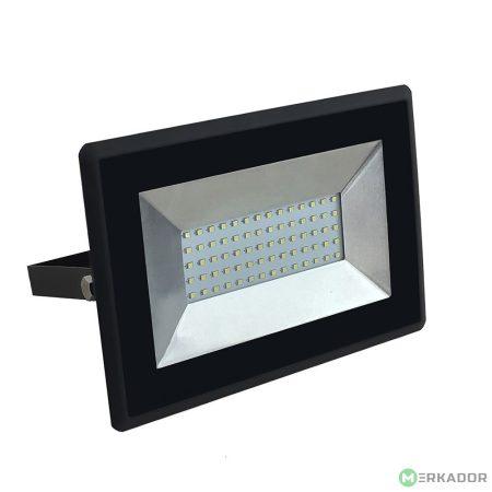 V-TAC 50W SMD LED reflektor, fényvető meleg fehér - fekete ház - 5958