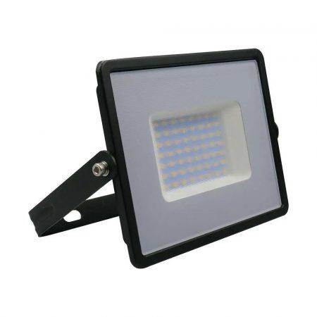 V-TAC 50W SMD LED reflektor, fényvető természetes fehér - fekete ház - 5959