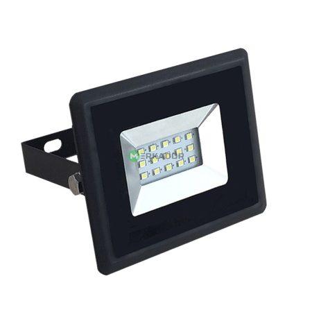 V-TAC 10W SMD LED reflektor, fényvető hideg fehér - fekete ház - 5942