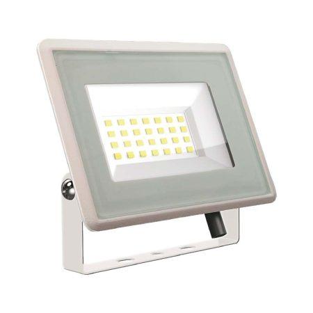V-TAC 10W SMD LED reflektor, fényvető természetes fehér - fehér ház - 5899