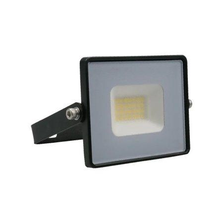 V-TAC 20W SMD LED reflektor, fényvető meleg fehér - fekete ház - 5946