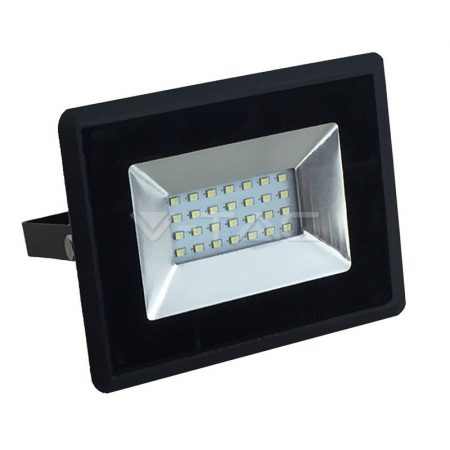 V-TAC 20W SMD LED reflektor, fényvető természetes fehér - fekete ház - 5947