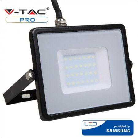 V-TAC PRO 30W SMD LED reflektor, 3000K Samsung chipes fényvető - 400