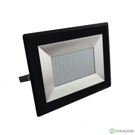 V-TAC 100W SMD LED reflektor, fényvető hideg fehér - fekete ház - 5966