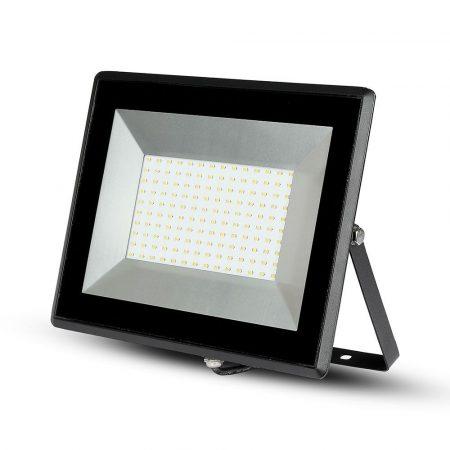 V-TAC 100W SMD LED reflektor, fényvető természetes fehér - fekete ház - 5965