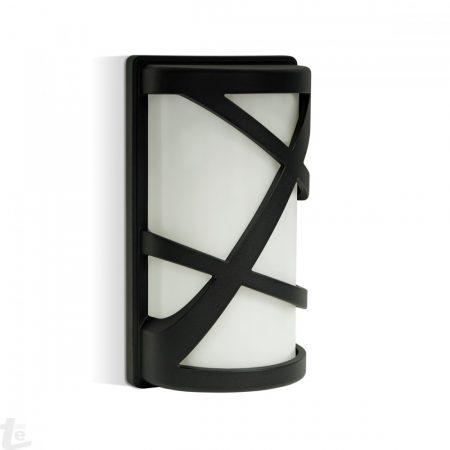 V-TAC kültéri, kerti fali lámpa - matt fekete - 7064