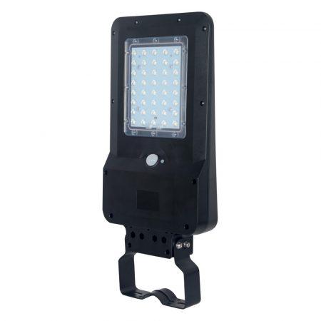 V-TAC mozgásérzékelős utcai LED lámpa, 15W napelemes reflektor - 8548