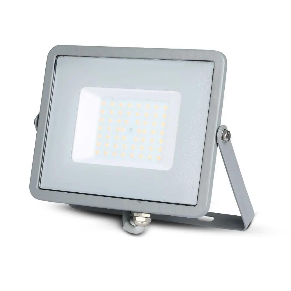 10 W os LED reflektor mozgásérzékelővel SLIM. Természetes