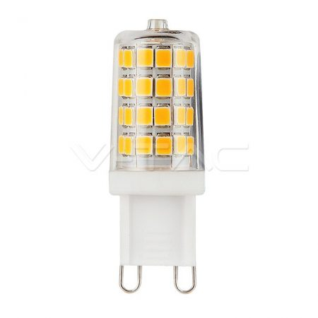 V-TAC PRO G9 LED izzó 3W - Hideg fehér - Samsung chip - 248