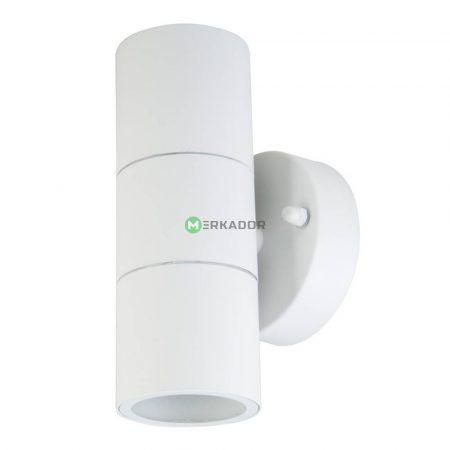 V-TAC matt fehér kétirányú kerek fali lámpa GU10 foglalattal - 7570