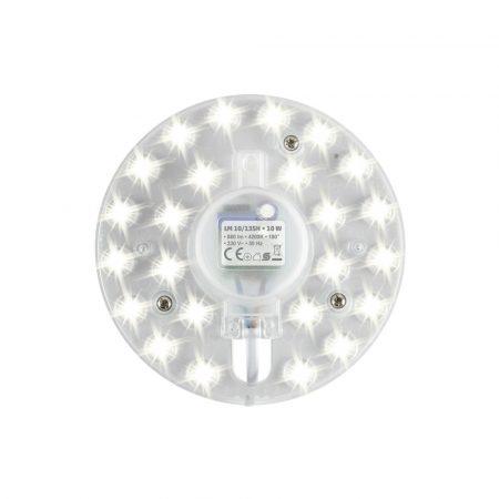 Beépíthető mágneses UFO lámpa LED modul 10W - Természetes fehér