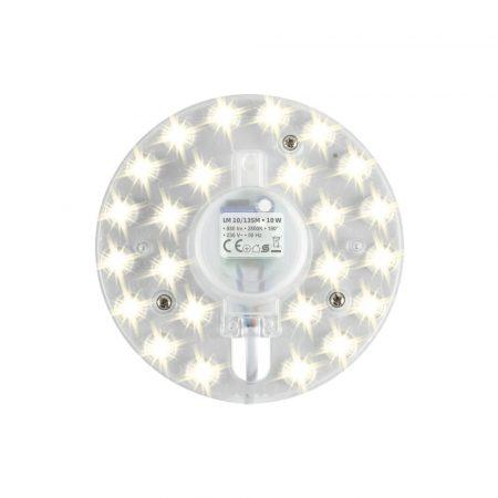 Beépíthető mágneses UFO lámpa LED modul 10W - Meleg fehér