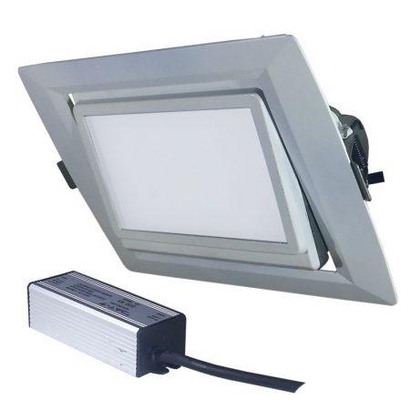 V-TAC 35W süllyeszthető COB LED mélysugárzó reflektor - 1091