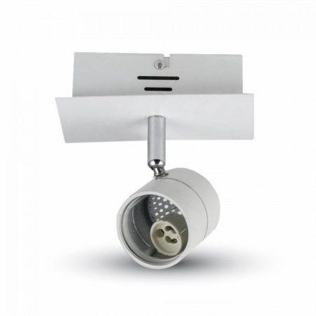 V-TAC mennyezeti / oldalfali lámpatest 1db GU10 porcelán foglalattal - 3617