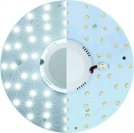 Beépíthető mágneses UFO lámpa LED modul 12W, mozgásérzékelővel - Természetes fehér
