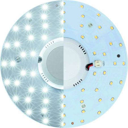Beépíthető mágneses UFO lámpa LED modul 12W, mozgásérzékelővel - Meleg fehér
