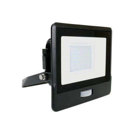 V-TAC slim 10W LED reflektor mozgásérzékelővel - hideg fehér - 5785