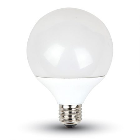 V-TAC 10W E27 G95 LED izzó - hideg fehér, 4278