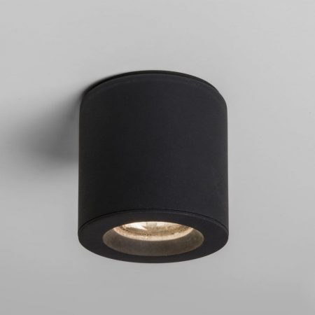 V-TAC felületre szerelhető fekete mennyezeti spotlámpa - kerek - 3628