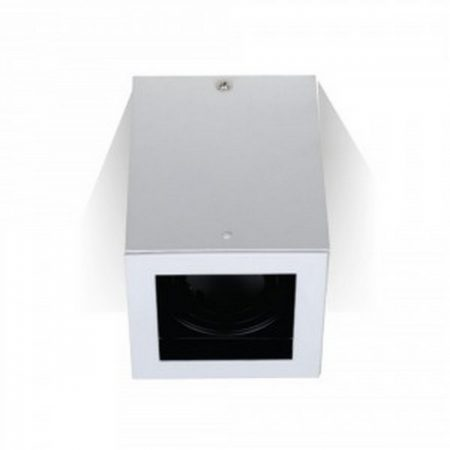 V-TAC felületre szerelhető fehér mennyezeti spotlámpa - négyzet - 3630