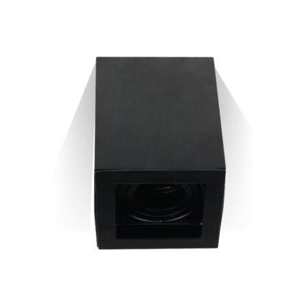 V-TAC felületre szerelhető fekete mennyezeti spotlámpa - négyzet - 3631