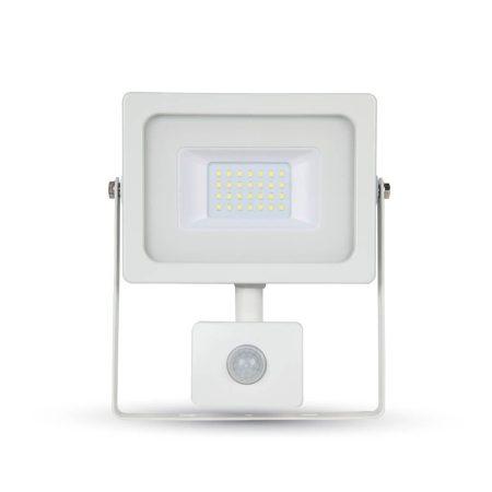 Prémium mozgásérzékelős slim 30W SMD LED reflektor - Természetes fehér