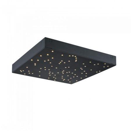 V-TAC 30x30 cm mennyezeti LED panel, csillagos égbolt - fekete - 4029
