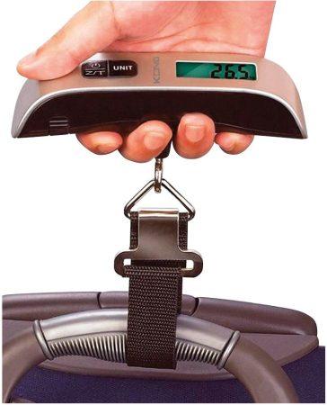MK8143 digitális mérleg, kézi csomagmérleg