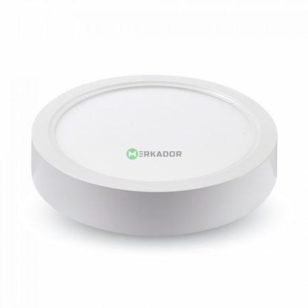 V-TAC falon kívüli LED lámpa panel 12W - hideg fehér, kerek - 4912
