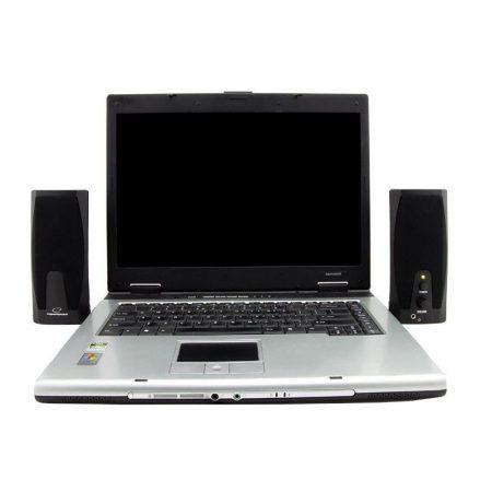 Asztali hangszóró pár, 2.0 hangfal - 230V