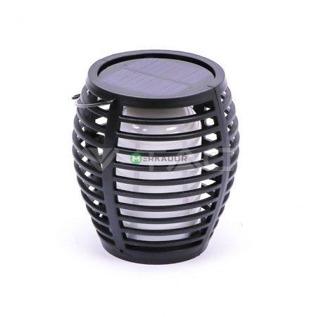 V-TAC szolár 4in1 láng imitáló napelemes kerti lámpa IP44 - 8558