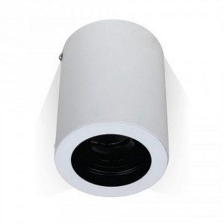 V-TAC felületre szerelhető fehér mennyezeti spotlámpa - kerek - 3627