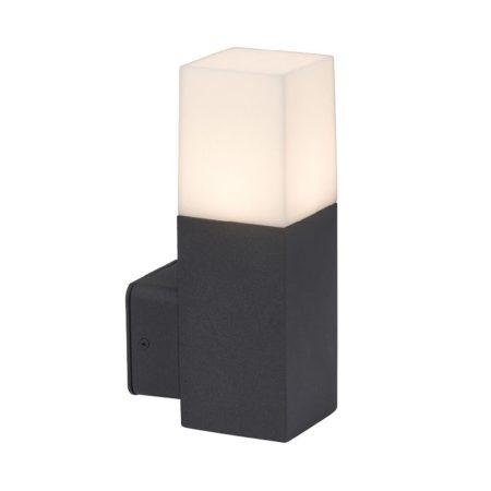 V-TAC kültéri fali lámpa GU10 foglalattal, szögletes falikar - 7563