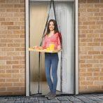 Delight mágneses szúnyogháló fekete függöny ajtóra 100x210cm (11398)