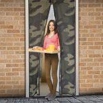 Mágneses szúnyogháló ajtóra - terepmintás
