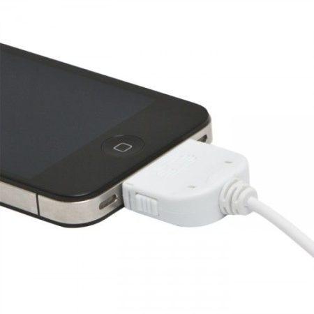 iPhone 4S - 3GS / iPod / iPad USB adatkábel, töltőkábel