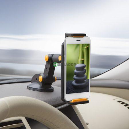 MNC univerzális telefontartó, autós GPS és tablet tartó