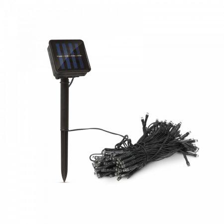 Napelemes fényfüzér 7 m, 50 LED -es égősor