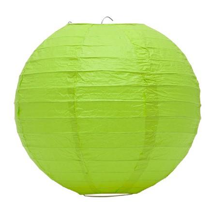 Lampion akasztóval 25cm - Zöld