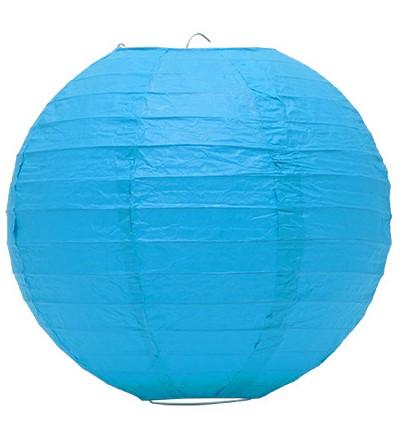 Lampion akasztóval 25cm - Kék