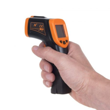 Lézeres infra hőmérő, digitális termométer - E210