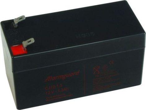 Zselés akkumulátor 12V / 1,3 Ah akku