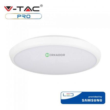V-TAC mennyezeti slim LED lámpa 12W - IP65 - Samsung chip - 820