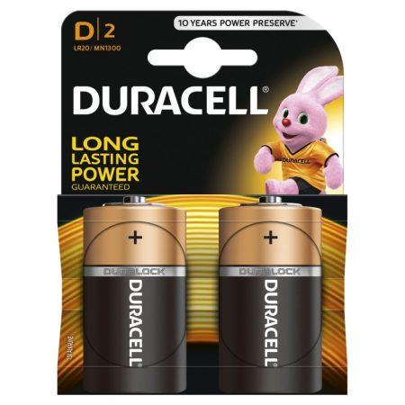 Duracell LR20 D tartós góliát elem
