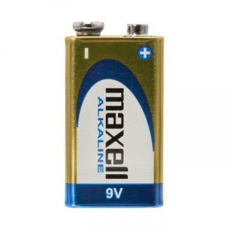 Maxell 9V-os elem E - 6LR61 - Alkáli